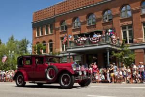 4th of july aspen parade