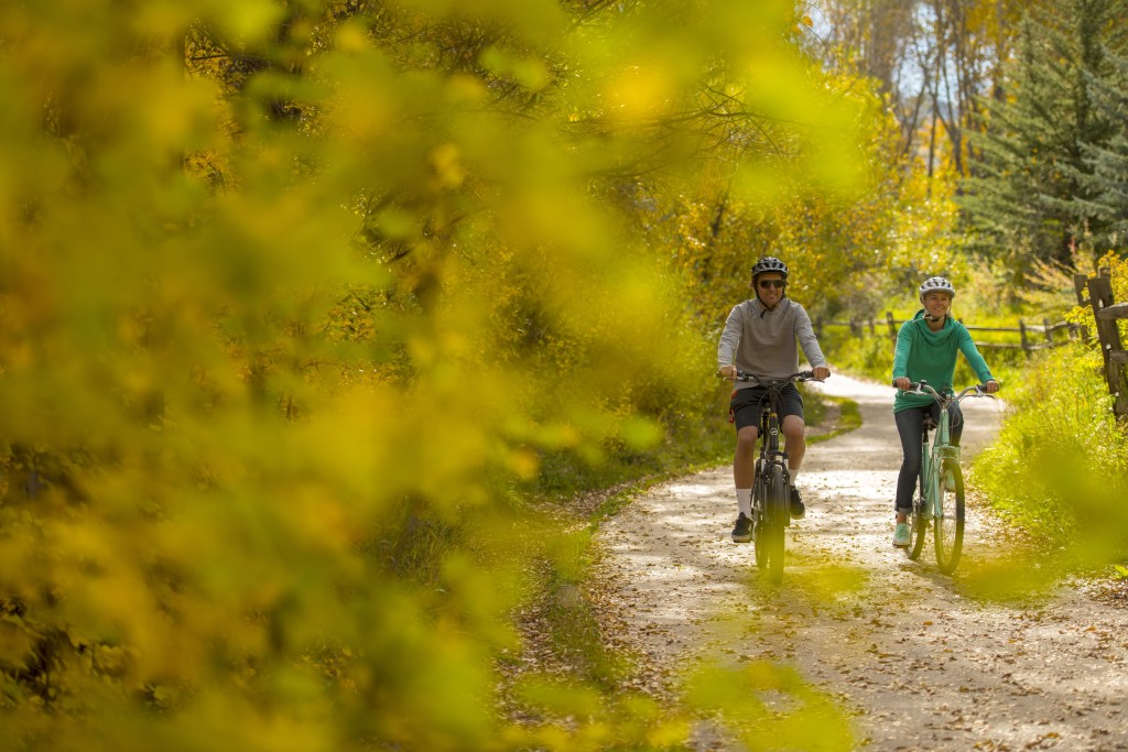 biking shoulder activity