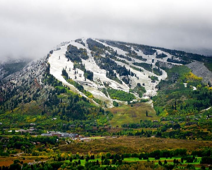 Buttermilk Mountain in Fall