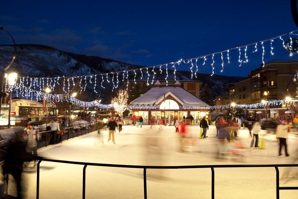 ice skating aspen