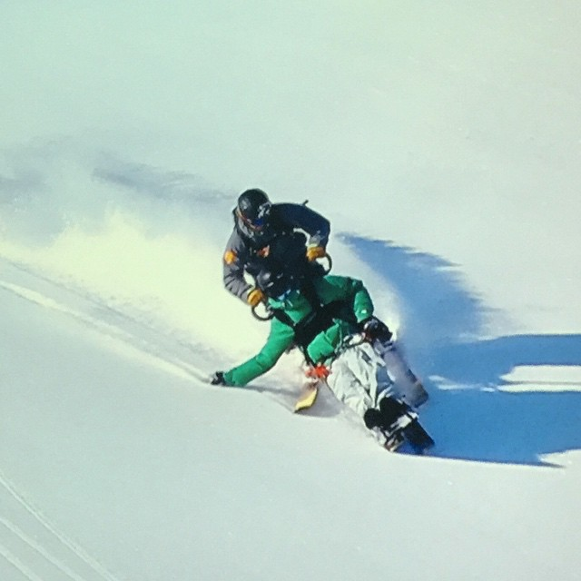 """Tony Schmiesing shredding the Chugach, from """"The Edge of Impossible"""""""