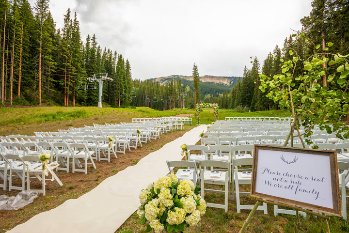 Elk Camp Wedding