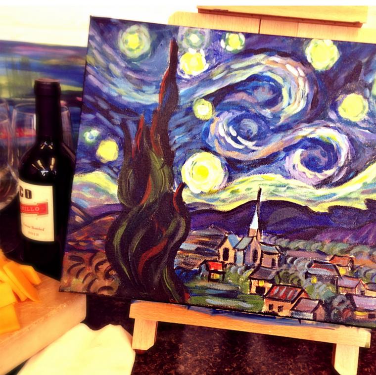 Paint & Beer Aspen Art