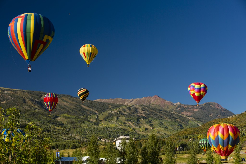 Hot air balloon Snowmass