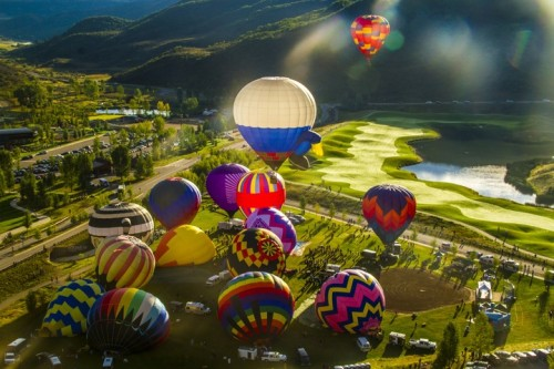 Hot Air Balloon Aspen
