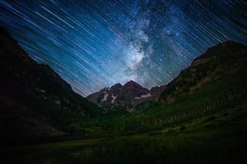 Stars Above Maroon Bells