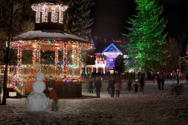 Aspen at Christmas