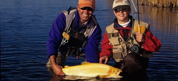 Silver creek outfitters- fishing