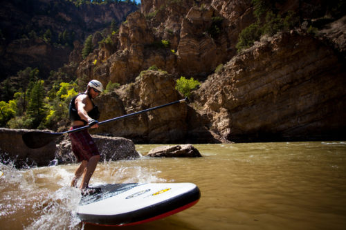 Floating in Aspen