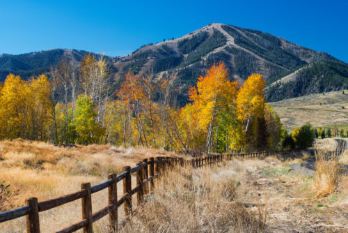 Shoulder season in Ketchum