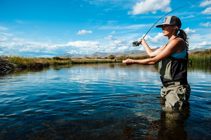 fly fishing in ketchum