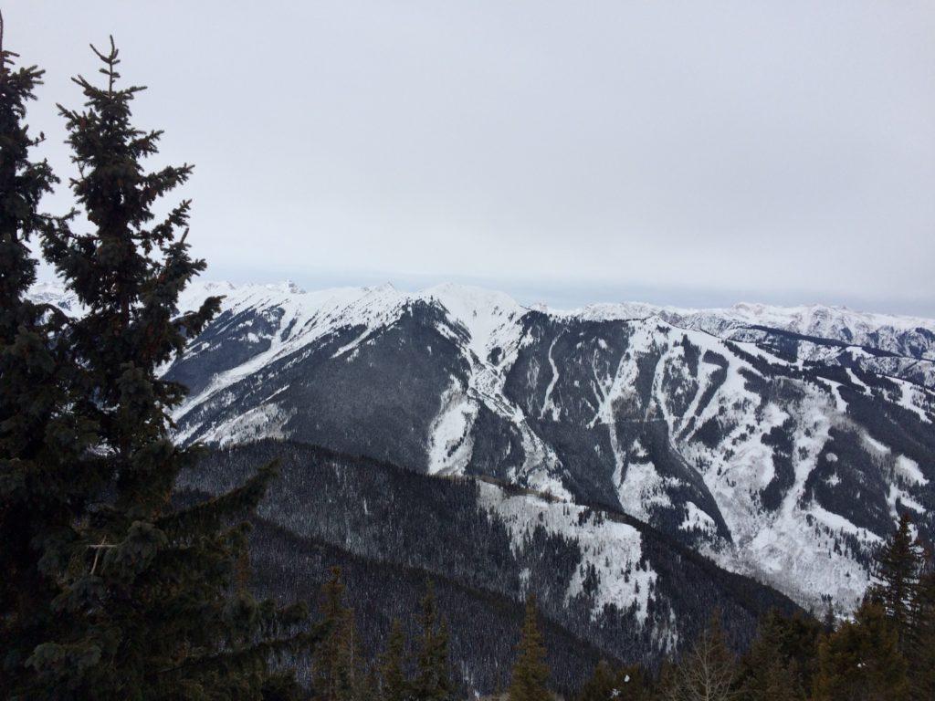 Top of Aspen Mountain, Looking Towards Highland Peak