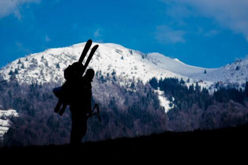 Backcountry Skiing Routes near Ketchum