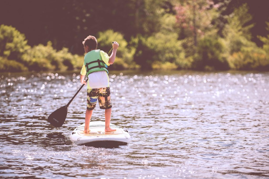 Stand Up PaddleBoarding in Sun Valley