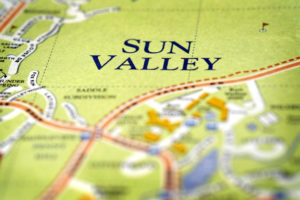 Map of Sun Valley Idaho Vacation Exploring Fun