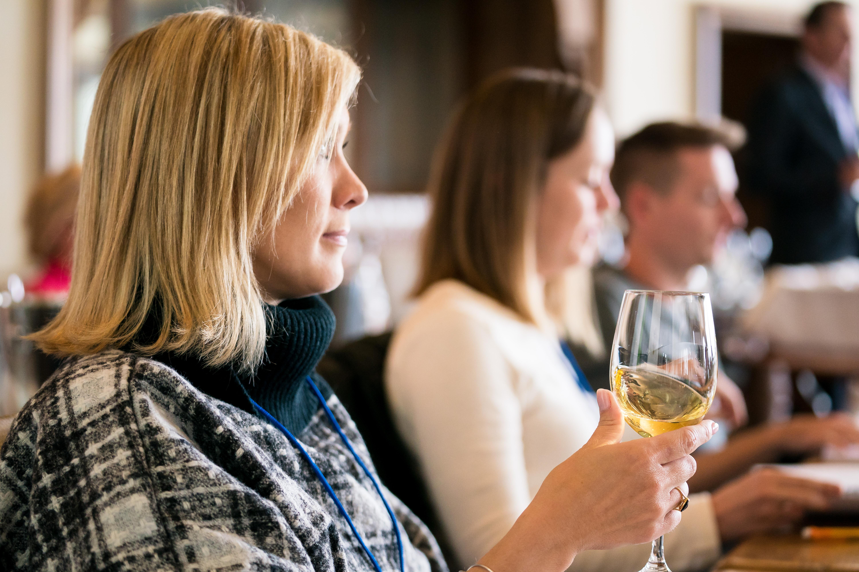 wine tasting participant