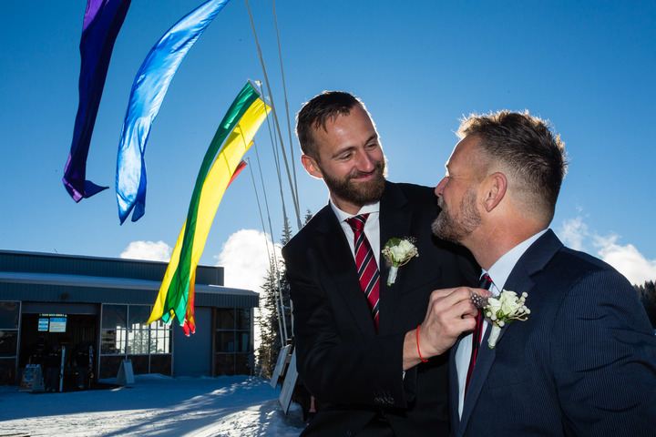 Aspen Gay Wedding