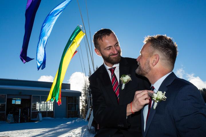 Aspen Gay Wedding