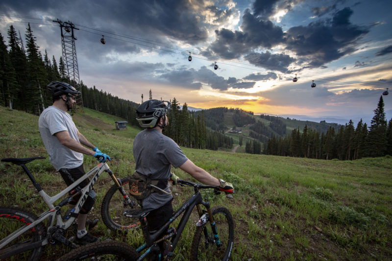 Memorable Summer - Biking on Aspen Mountain